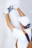 Plasterer do contratante Fotografia de Stock Royalty Free