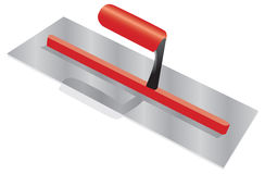 Plasterers trowel Stock Images