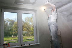 Plastering Stock Photos