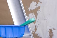 Free Plastering Equipment Stock Photo - 15797730