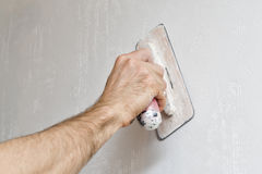 Plastering Royalty Free Stock Image