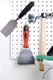 Plastering tools Royalty Free Stock Photos