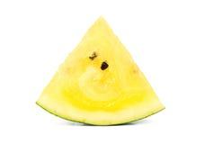 Plasterka koloru żółtego arbuz Zdjęcie Stock