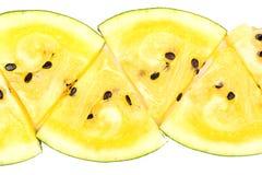 Plasterka koloru żółtego arbuz Obraz Stock