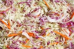 Plasterka sałatkowy warzywo obraz stock