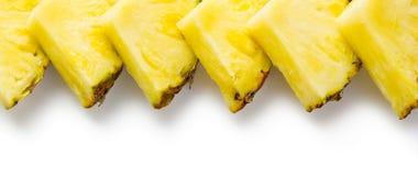 Plasterki ananas zdjęcie royalty free
