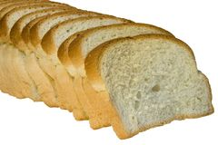 plasterki chlebów Fotografia Stock