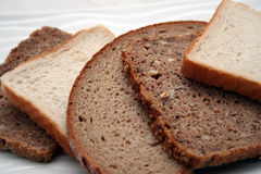 plasterki chlebów Obraz Royalty Free