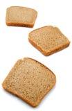 plasterki chlebów Zdjęcia Stock