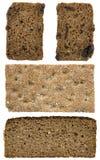 plasterki chlebów Fotografia Royalty Free