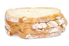 Plasterki chleb Obrazy Stock