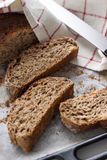 Plasterki chleb Zdjęcia Stock