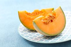 Plasterki melon zdjęcia royalty free