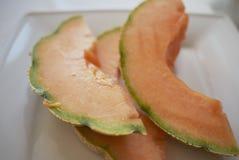 Plasterki melon obrazy stock