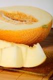 Plasterki melon Zdjęcie Stock