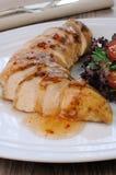 Plasterki polędwicowi z kumberlandem kurczak Zdjęcie Royalty Free
