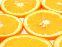 plasterki pomarańczowe fotografia stock