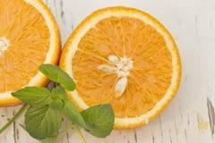 plasterki pomarańczowe zdjęcie stock