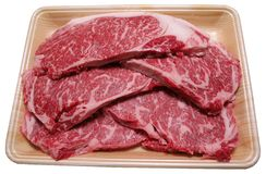 plasterki wołowiny Obraz Royalty Free