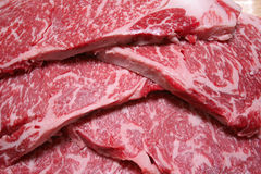 plasterki wołowiny Fotografia Stock