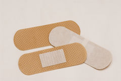 Plasters. Royalty Free Stock Images