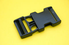 Plastic accessories. Useful for bags, rucksacks and purses stock photography