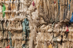 Plastic afval Stock Foto's
