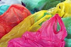 Plastic afvalscheiding stock fotografie