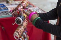 Plastic armbanden Royalty-vrije Stock Foto's