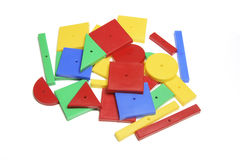 Plastic Assorted Shapes Royalty Free Stock Image