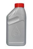 Plastic automobile oil bottle Stock Photo