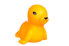 Plastic baby seal Royalty Free Stock Images