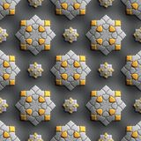 Plastic background tiles Stock Images