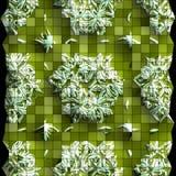 Plastic background tiles Stock Photos