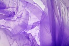 Plastic bag background. Designed grunge purple texture, background. Abstract tones copy space template. Violet texture royalty free stock photos