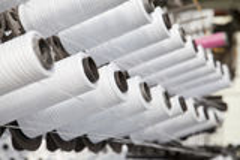 Plastic bag Industrial Stock Image