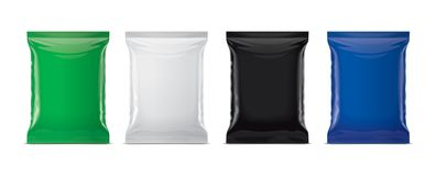 Plastic Bag Mockup Stock Photos