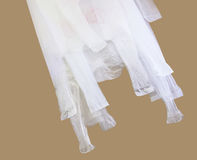 Plastic bag for reused with clipping path Stock Photos