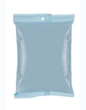 Plastic bag snack package Royalty Free Stock Images