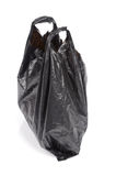 Plastic bag on white background Royalty Free Stock Photos