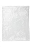 Plastic bag. On a white background royalty free stock images