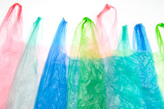 Plastic Bags Royalty Free Stock Photography