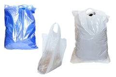 Plastic bags Stock Photos