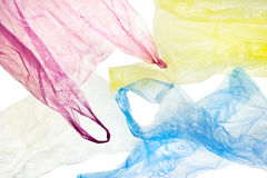 Plastic bags background Royalty Free Stock Image