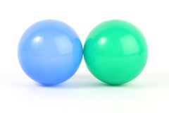 Plastic balls Royalty Free Stock Photo