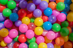 Plastic balls-Baby toy Royalty Free Stock Photo