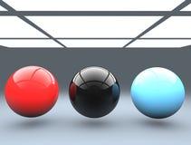 Plastic balls Stock Images