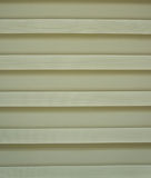 Plastic bamboo blind ,cream color Royalty Free Stock Photos