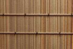 Plastic bamboo fence Royalty Free Stock Image
