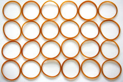 Plastic Band Background Stock Images